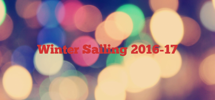 Winter Sailing 2016-17
