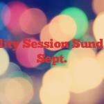 Sailability Session  Sunday 23rd Sept.