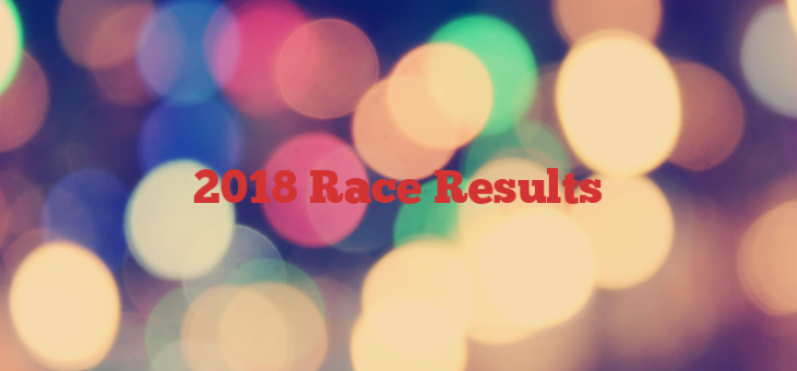 2018 Race Results