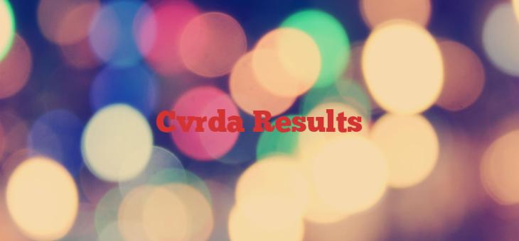 Cvrda Results