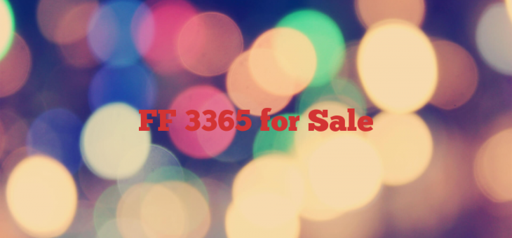 FF 3365 for Sale