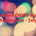 Updated COVID Risk Assessment – July